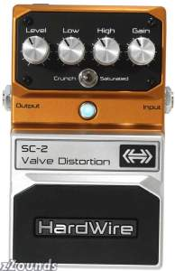 HardWire SC-2 Valve Distortion Pedal