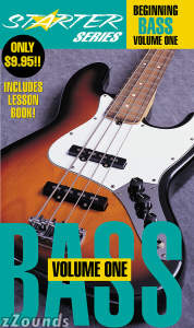Starter Series Beginning Bass Volume One Book and Video