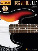 Hal Leonard Bass Method Book and CD