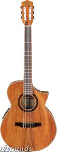 Ibanez EWN28KOE Exotic Wood Classical Acoustic-Electric Guitar