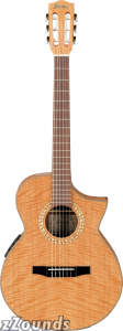 Ibanez EWN28SYE Exotic Wood Classical Acoustic-Electric Guitar