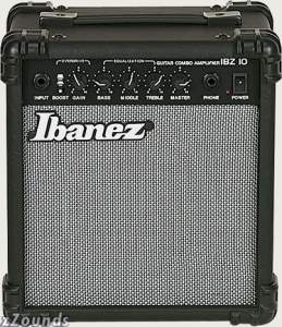 Ibanez IBZ10G Guitar Combo Amplifier (10 Watts, 1x6 in.)