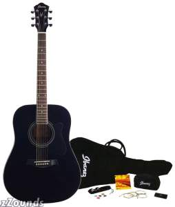 Ibanez IJV100S Jam Pack Acoustic Guitar Package