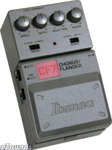 Ibanez CF7 Tone Lok Chorus Flanger Pedal