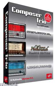 IK Multimedia Composer Trio Bundle (Mac and Windows)