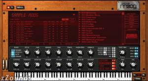 IK Multimedia SampleMoog Software