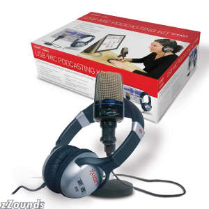Ion Audio IPK01 UCast Podcasting Kit with USB Microphone