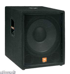JBL JRX118SP Active PA Subwoofer (300 Watts, 1x18 in.)
