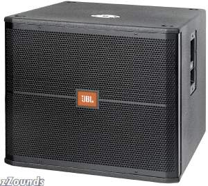 JBL SRX718S Compact Subwoofer (800 Watts, 1x18 in.)