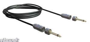 Jodavi ZZYZX Snap Jack Quick Release Guitar Cable with Straight Plugs