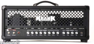 Krank Amplification Revolution Guitar Amplifier Head (100 Watts)