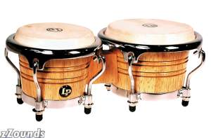 Latin Percussion LPM199AW Music Collection Mini Tunable Bongos