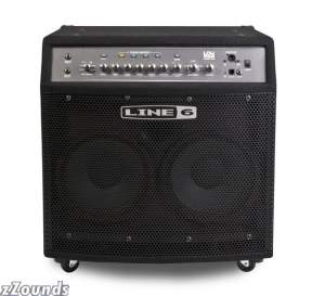 Line6 LowDown LD400 Pro Bass Combo Amplifier (400 Watts, 2x10 in.)