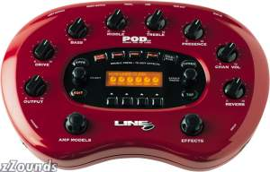 Line6 PODxt Guitar Amp Modeling Processor