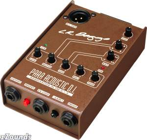 LR Baggs Para Acoustic D.I. Acoustic Guitar Preamp