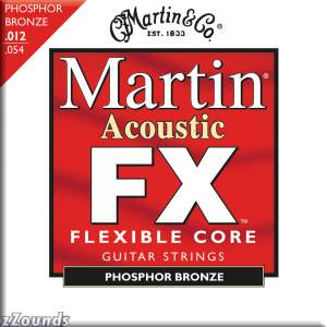Martin FX740 92/8 Phosphor Bronze Acoustic Guitar Strings