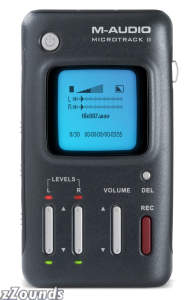 M-Audio Microtrack II 24/96 Portable Handheld Recorder