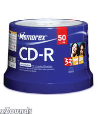 Memorex 52x 80-Minute CD-R