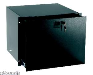 Middle Atlantic D4K 4-Space Rack Drawer with Key Lock