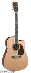 Martin DC16RGTE AURA Dreadnought Acoustic-Electric Guitar (with Case)
