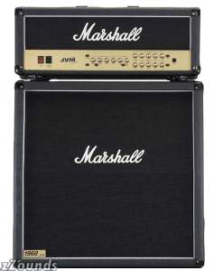 Marshall JVM Guitar Amplifier Half Stack with JVM205H Head and JCM1960A Cabinet