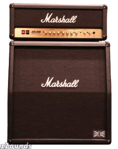 Marshall JCM2000 Guitar Amplifier Half Stack with DSL100MLB Head and MC412A Cabinet