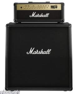Marshall MG Guitar Amplifier Half Stack with MG100HFX Head and MG4X12A Cabinet