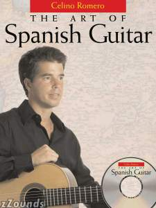 Amsco The Art Of Spanish Guitar Book and CD
