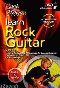 The Rock House Method Intermediate Program Learn Rock Guitar Video
