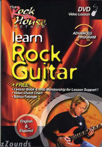 The Rock House Method Advanced Program Learn Rock Guitar Video