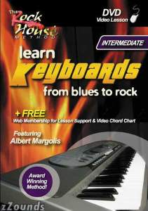 Rock House Method Intermediate Learn Keyboards From Blues to Rock Video