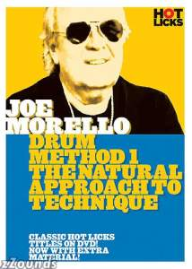 Hot Licks Joe Morello Drum Method 1: The Natural Approach To Technique Video