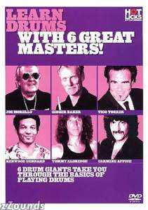 Hot Licks Learn Drums with 6 Great Masters Video