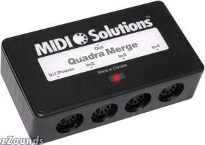 MIDI Solutions Quadra Merger Processor