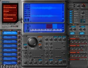 Mark of the Unicorn (MOTU) MachFive Universal Sampler Plug-In