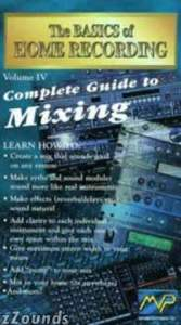 The Basics of Home Recording Volume IV Complete Guide To Mixing Video