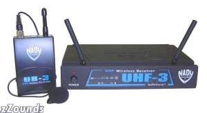Nady UHF3 Omnidirectional Lapel Wireless System