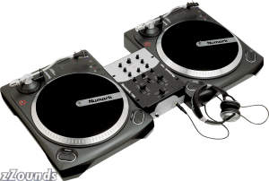 Numark Battle Pak All In One DJ System