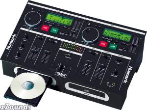Numark CDMIX1 CD Player and Mixer System
