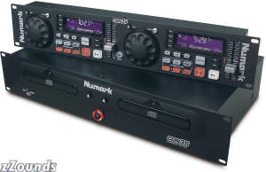 Numark CDN35 Fusion Series Dual CD Player with Anti Shock