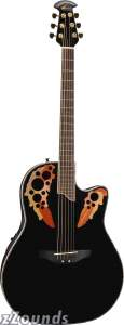 Ovation CC48 Celebrity Super-Shallow Bowl Cutaway Acoustic-Electric Guitar