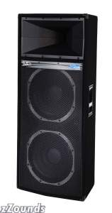 Peavey DJS4 DJ Speaker Enclosure (2x15 in.)