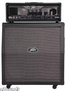 Peavey Valve King Guitar Amplifier Half Stack with Valve King 100 Head and Valve King 412 Cabinet