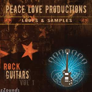 Peace Love Productions Rock Guitars Volume 1