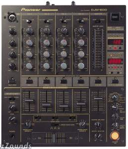 Pioneer DJM600 4-Channel Professional DJ Mixer