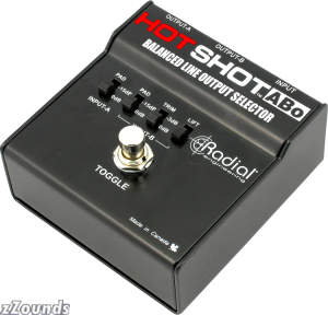 Radial Hot Shot ABo Microphone and Line Switcher Pedal