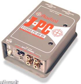 Radial JPC Stereo PC AV Direct Box