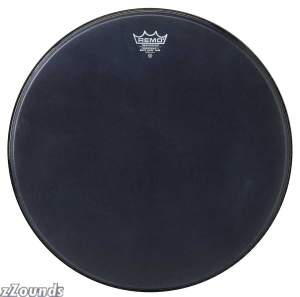 Remo Black Suede Powerstroke 3 Bass Drumhead