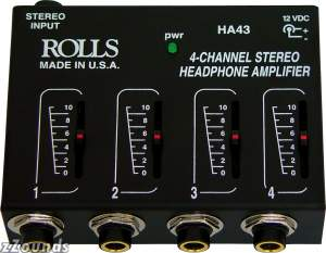 Rolls HA43 Headphone Mixer