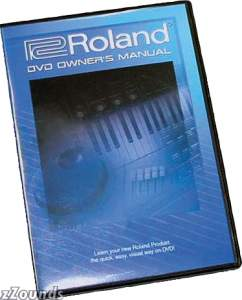 Roland DVD Owner's Manual For MV8000